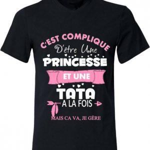 Tee-shirt Tata & Princesse