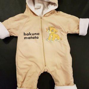 Combinaison bébé personnalisée