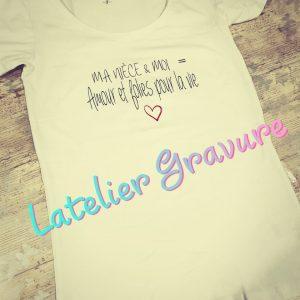 Tee-shirt Pour la vie