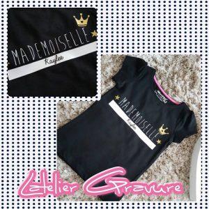 Tee-shirt Mademoiselle