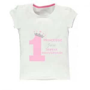 Tee shirt Premier anniversaire