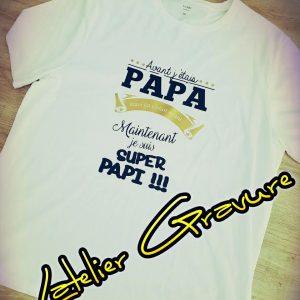 T-shirt Super Papi