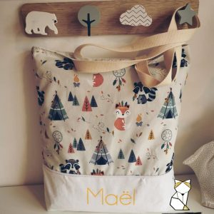 Tote bag sac épaule Enfant – Maternelle et primaire