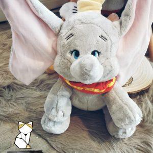Peluche disney Dumbo personnalisée