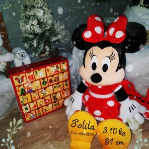 Peluche Minnie Disney personnalisée