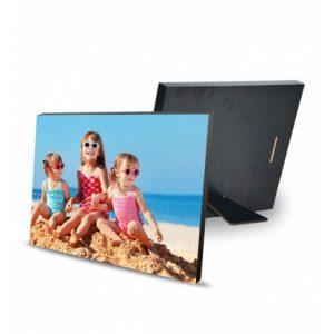 Cadre photo en bois avec pied 20×15 cm