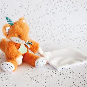 Doudou pantin renard – Doudou et compagnie – Brodé au prénom
