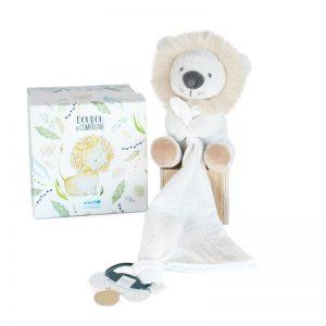 Doudou Lion UNICEF Bébé & Moi – personnalisé au prénom