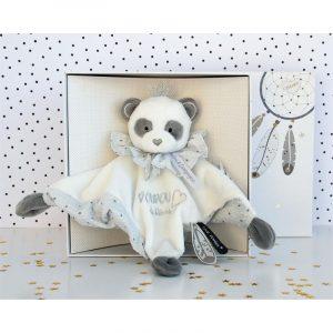 Doudou attrapes rêves panda – Doudou plat Doudou & compagnie